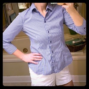New York and Company Button Up Blouse